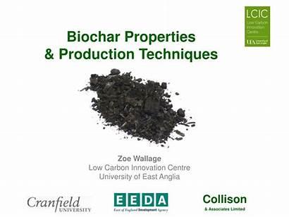 Biochar Properties Production Techniques Carbon Ppt Powerpoint
