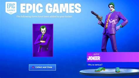 fortnite joker skin coming  fortnite