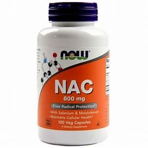 Buy Now Foods Nac - 600 Mg - 100 Caps