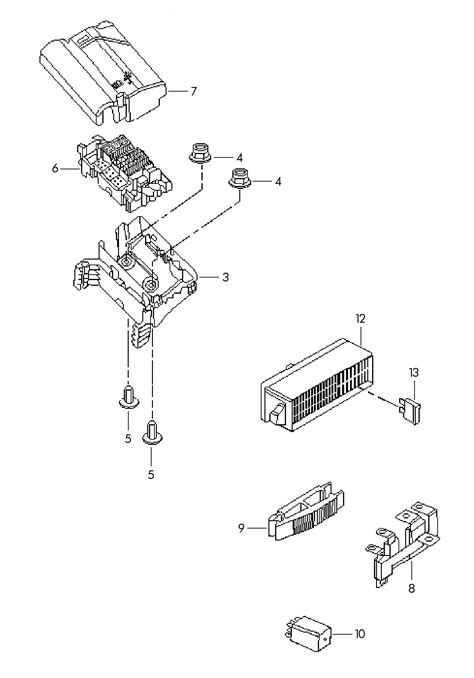 volkswagen jetta multi fuse fuses multifuse