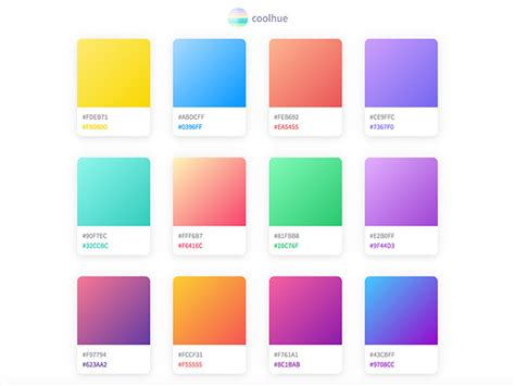 coolhue  collection  ready    css color gradients freebiesbug