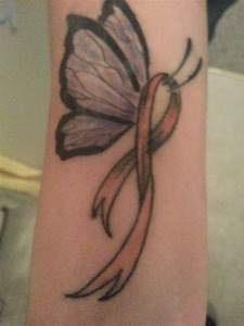 Self harm awareness ribbon | TATTOOS | Pinterest