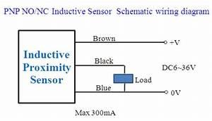 Inductive Proximity Sensor Wiring Diagram Pinout