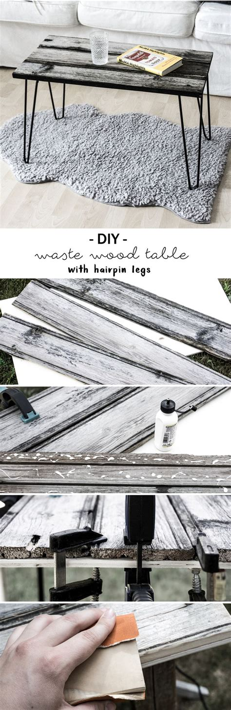 Do It Yourself Möbel Anleitung by Diy Tisch Aus Altholz Mit Hairpin Legs Do It Yourself