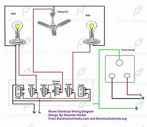 Electric House Wiring Diagram Also Residential Electrical
