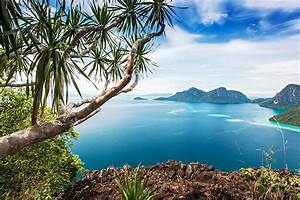 Pictures, Malaysia, Bohey, Dulang, Island, Sea, Hdr, Nature, Mountains