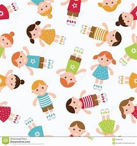 Kids Seamless Pattern Background. Royalty Free Stock Photo ...