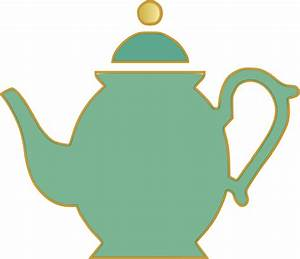 Tea Pot Green Clip Art at Clker.com - vector clip art ...