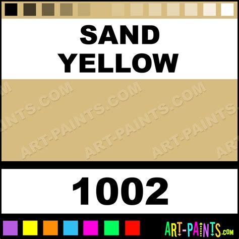 sand yellow glossy acrylic airbrush spray paints 1002