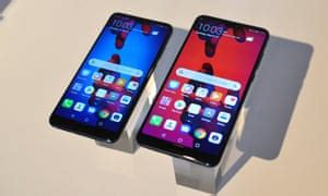 huawei says three cameras are better than one with p20 pro smartphone technology the guardian