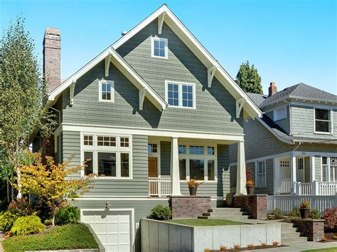 Craftsman Style Exterior Colors, Exterior House Colors For