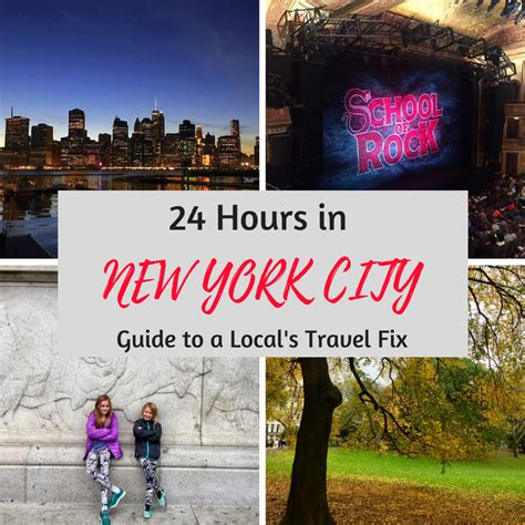 24 Hours In New York City Guide To A Local's Travel Fix