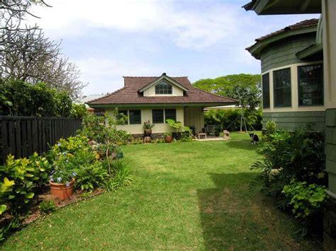 craftsman cottage tropical landscape hawaii by