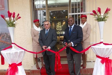 bureau emirates emirates innaugure nouveau bureau à conakry
