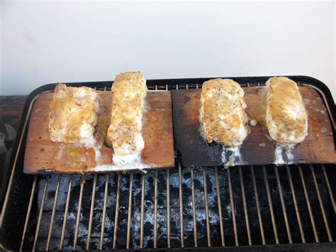 grouper glazed planked miso cedar maple recipe grill covered minutes heat