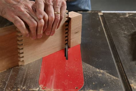 mitered finger joints finewoodworking