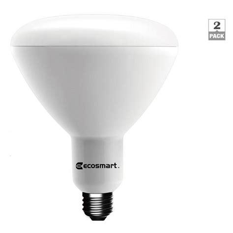 led light daylight ecosmart 90w equivalent daylight br40 dimmable led light