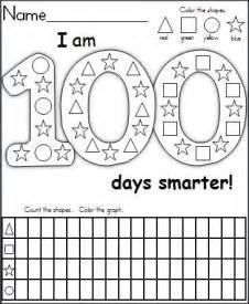 100 Days of School Printable Activities