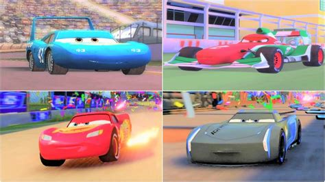 Cars 1  Cars 2  Cars 3 The Movie Game Hd Youtube