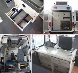 Ambulance Interior Converting/locker/desk For Car ...