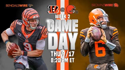 browns  bengals comprehensive pre game guide