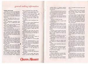 O U0026 39 Keefe  U0026 Merritt Manual  With Images