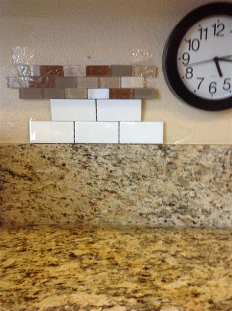 remove 6 quot granite backsplash before adding tile
