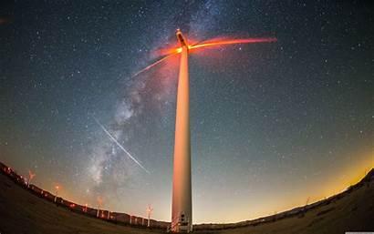 Energy Wind Wallpapers Turbine Desktop 4k Wide