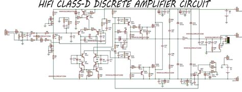 Hifi Class Discrete Power Amplifier