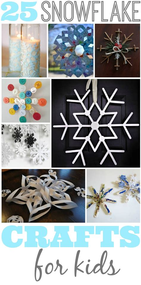 snowflake crafts  kids
