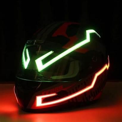 Helmet Motorcycle Strip Tech Hi Led Lights