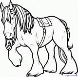 Horse Coloring Pages Drawing Clydesdale Draw Printable Angus Drawings Brave Horses Step Colouring Dragoart Printablecolouringpages Creature Camp Embroidery Movies Clipartmag sketch template
