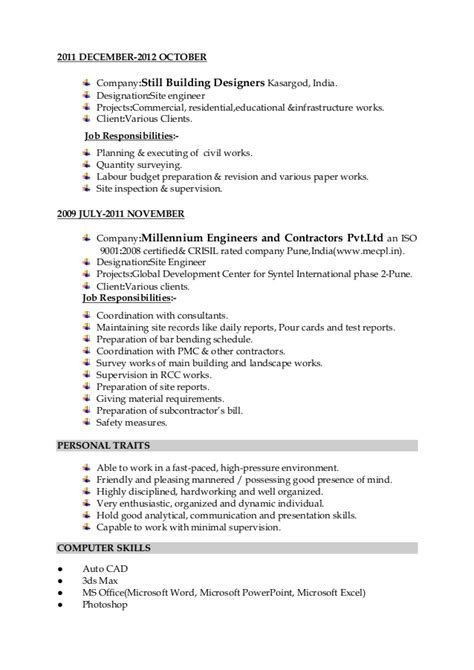 Microsoft Works Resume Templates by Resume For Microsoft Works