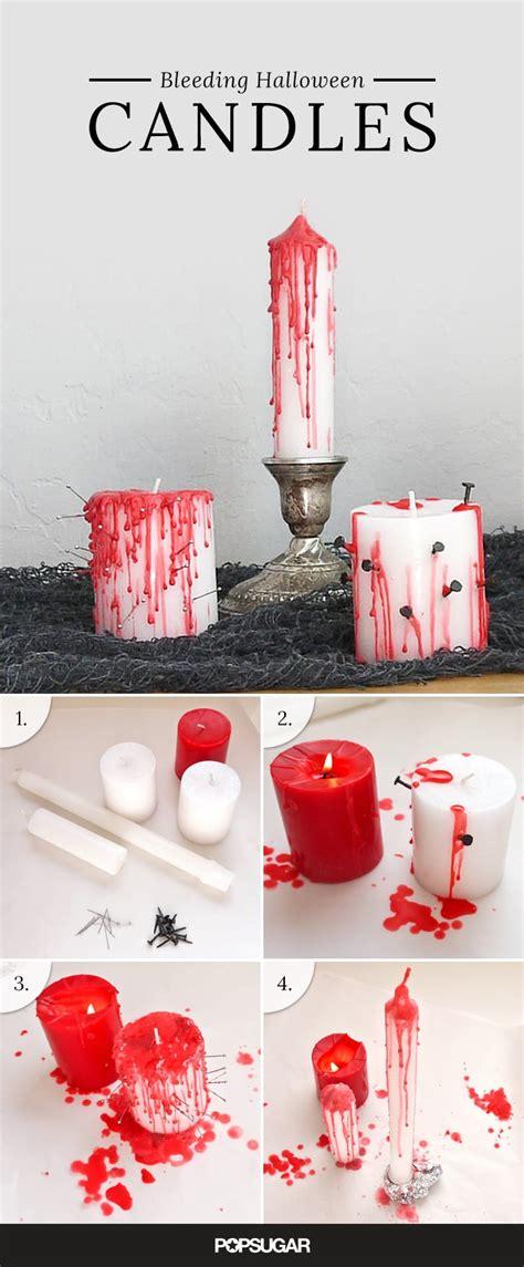 bleeding halloween candles popsugar smart living