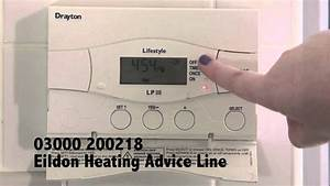 How To Set Your Electronic Heating Programmer