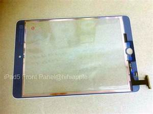 Another iPad 5 front panel leaks (update: debunked)