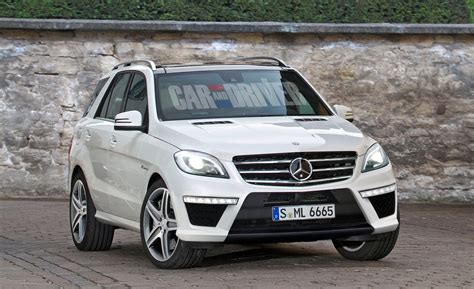 2012 Mercedes-benz Ml63 Amg To Debut At 2011 L.a. Auto