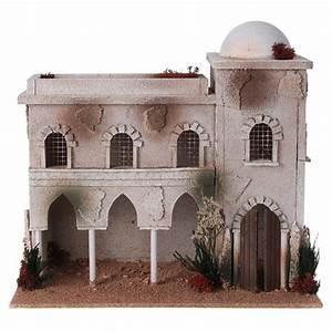 Maison De Noel Miniature : maison arabe en miniature pour cr che noel vente en ligne sur holyart ~ Nature-et-papiers.com Idées de Décoration