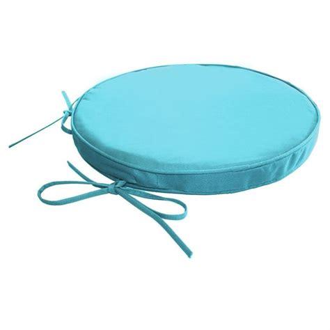 coussin de chaise rond galette de chaise ronde impermeable dehoussable achat