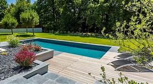 nos realisations de jardin et amenagement d39exterieur en With jardin paysager avec piscine 15 amenagement autour de maison contemporaine creation de