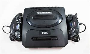 Sega Genesis V2 System Console In Great Condition
