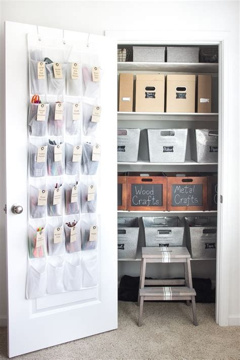 Closet Organization Ideas For Crafts by How To Organize A Craft Closet Scrap Booking