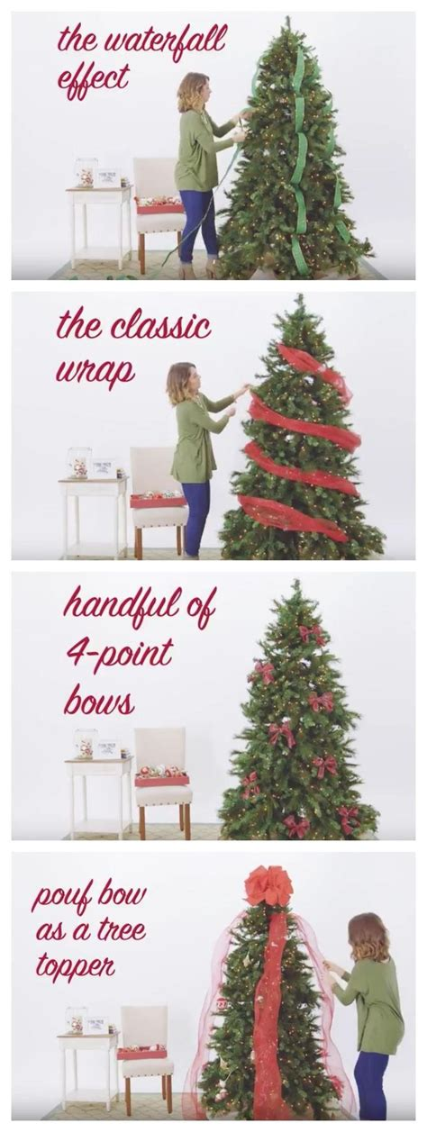 how to wrap a christmas tree with ribbon 25 best ideas about ribbon on ribbon crafts ribbon on