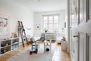 Décoration Chambre Scandinave : chambre d 39 enfant avec du parquet ancien ~ Melissatoandfro.com Idées de Décoration
