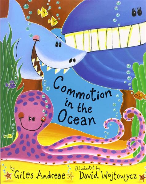 Image result for commotion in the ocean book