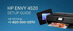 Hp Envy 4520 Setup Guide For Your Hp Envy Printer