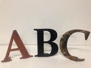 custom 12 inch metal letters and numbers for wall dcor With decorative metal letters and numbers
