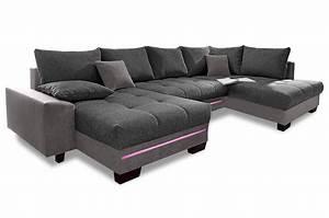 Sofa Mit Led Und Sound : wohnlandschaft nikita mit led und sound und schlaffunktion anthrazit sofas zum halben preis ~ Orissabook.com Haus und Dekorationen