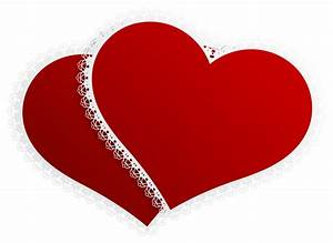 Double Hearts Wedding Clipart (75+)