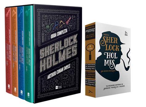 holmes sherlock box livro livros sherloc essencial